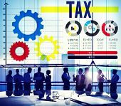 pic of financial audit  - Tax Taxation Legal Audit Financial Economy Concept - JPG
