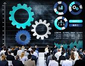 picture of collaboration  - Teamwork Collaboration Strategy Business Marketing Concept - JPG