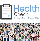 pic of check  - Health Check Insurance Check Up Check List Medical Concept - JPG