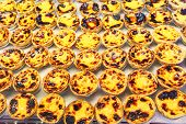 image of pasteis  - Traditional portuguese pastry  - JPG