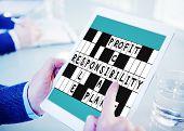 image of ethics  - Social Responsibility Reliability Dependability Ethics Concept - JPG