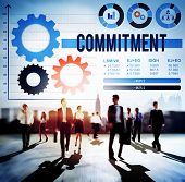 foto of promises  - Commitment Compliance Loyalty Pledge Promise Concept - JPG