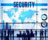 image of policy  - Security Protection Privacy Policy Confidentiality Concept - JPG