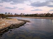 image of israel people  - The Yarkon River Tel Aviv Israel the biggest city in the country - JPG