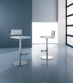 foto of stool  - Modern metal  stool  - JPG