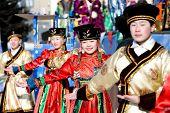 Mongolian Dancers At Shrovetide