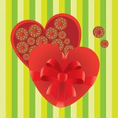 Love Gift Heart Shape Candy Box