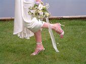 Bride Kick Up