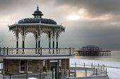 Brighton winter scene