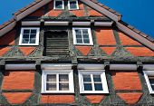 Traditional Timber Fram House In Celle, Germany