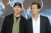 SAN DIEGO, CA - JULY 23: (L-R) Ron Howard and Brian Grazer arrives at the world premiere of