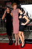 LOS ANGELES, CA - DEC 9: Penelope Cruz, Nicole Kidman and Fergie aka Stacy Ferguson at the premiere