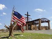 The Cross and the Flag over Joplin