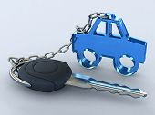 pic of car key  - Concept of your dream car - JPG