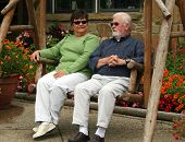 Senior Couple In Swing