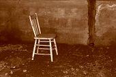 Sepia Tone Chair