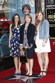 LOS ANGELES, CA - AUG 1: Sissy Spacek and family at a ceremony where Sissy Spacek is honored with a star on the Hollywood Walk of Fame in Los Angeles, California on August 1, 2011