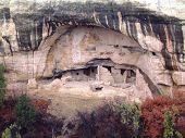 Cliff Dwellings At Mesa Verde