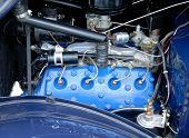 1930's Vintage Car Engine