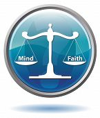 Mind or Faith button