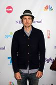 LOS ANGELES - AUG 1:  Dax Shepard  arriving at the NBC TCA Summer 2011 Party at SLS Hotel on August