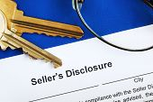 Sign the seller disclosure statement in a real estate transaction