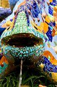 Salamandra Di Gaudì A Parc Guell