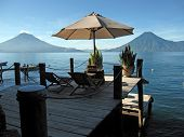spot for two, Lake Atitlan