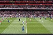 FC Arsenal gegen Chelsea