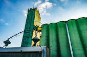 Agro-processing Plant For Processing And Silos For Drying Cleaning And Storage Of Agricultural Produ poster