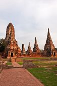 Chaiwatthanaram ancient Temple ancient capital Ayutthaya