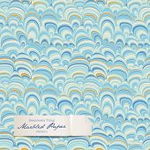 seamlessly tiling marbled paper pattern