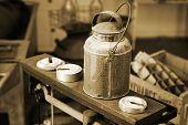Vintage Creamery Can (Vintage Tint)