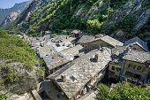 Bard mittelalterliches Dorf