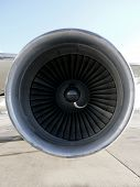 Aircraft Jet Engine Inlet