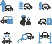 car signs. vector