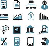 signos de Finanzas & inversión, vector