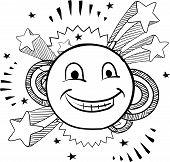 Emoticon sketch