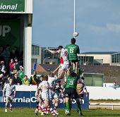 Connacht Vs Ulster Rugby Match