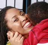 Mother Hugging Her Baby