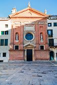 Front weergave kerk van San Clemente, Padua