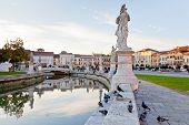 Prato Della Valle In Padua, Italy