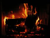 Warm Fire poster