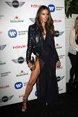 LOS ANGELES - FEB 10:  Alessandra Ambrosio arrives at the Warner Music Group post Grammy party at the Chateau Marmont  on February 10, 2013 in Los Angeles, CA..