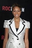 LOS ANGELES - 9 de fevereiro: MC Lyte chega a ROC NATION anual Brunch pré-Grammy no Soho House o