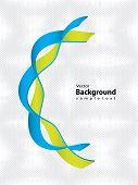 Cadeia de DNA com Design especial - fundo médico
