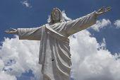 Statue Of Jesus Christ In Peru