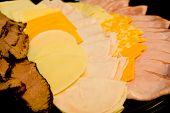 Charcutaria e queijos