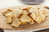 Homemade Crunchy Pita Chips