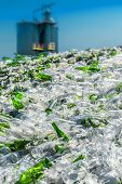 Glas-recycling-Anlage